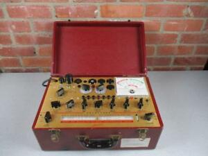 Hickok Tube Tester 800 Mutual Conductance Works Needs Calibration