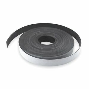 Zoro Select 2vak1 Magnetic Strip 100 Ft L 3 In W