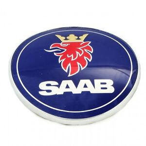 Saab 9 3 Convertible Trunk And Hood Badge 1998 2003 Aero Turbo Se Lpt