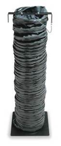 Statically Conductive Duct 15 Ft black Allegro 9500 15ex