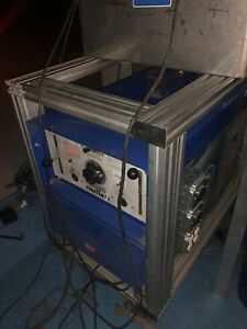 Miller Electric Dialarc Hf p 310a Ac dc Tig Welder Cooler And Cart