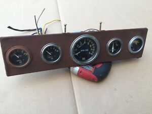 Vintage Stewart Warner Tach Oil Temp Gauges Rat Rod Chevrolet Ford Mopar 824869
