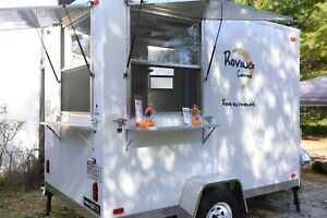 Mobile Coffee Trailer Business Food Truck Price Reduced 15 900 Obo