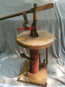 Vintage Coats Iron Tireman Tire Changer Local Pickup