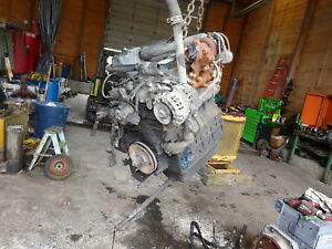 Kubota V2003t Turbo Diesel Engine Runs Mint Video Bobcat S185 S175 V2003