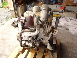 Detroit Diesel 3 53t Turbo Engine Video Runs Mint 353 Rare Gm
