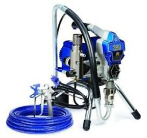 Graco Nova 390 Pc Electric Airless Paint Sprayer 17c310 And 3m Face Mask