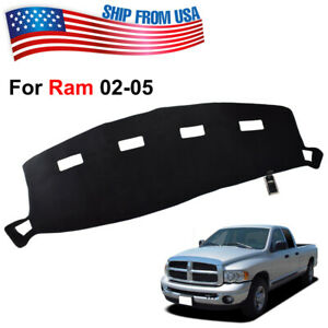 Genuine Xukey Dashmat For Dodge Ram 2002 05 Dashboard Cover Dash Mat Mud Carpet
