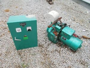Onan Generator Natural Gas Or Propane W gas Fittings And Control Panel