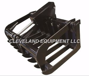 New 48 Mini Root Grapple Attachment Bobcat 463 S70 Skid Steer Track Loader