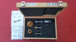 Starrett Digital Borematic Inside Micrometer Intrimik 3 8 3 4 In S780xtdz 12045