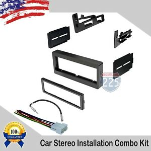 Car Stereo Radio Dash Kit W Harness Antenna Gmc Chevy Caddilac 1995 2005