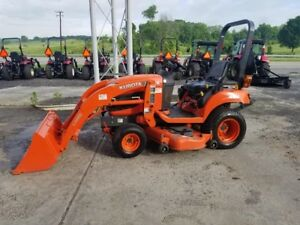 Kubota Bx1860 4x4 Loader Tractor With Mower