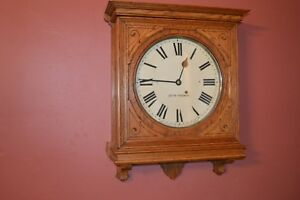 Antique Seth Thomas Office No 5 Model Clock 1904