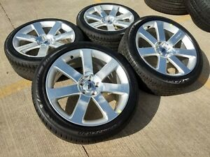 20 Chrysler 300 Srt 8 Dodge Charger Challenger Oem Wheels Rims Tires 2438 A New