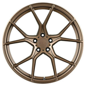19 Stance Sf07 Forged Bronze Concave Wheels Rims Fits Lexus Is250 Is350
