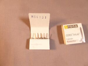 Sirona Cerec Inlab Pointed Bur Super Nice New Box Of 4 1 Look At Pict