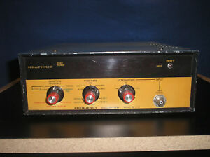 Heathkit Frequency Counter Model Im 4110 Rf Test Equipment