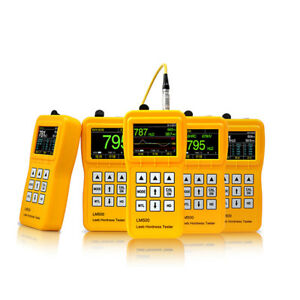 Yushi Lm500 Portable Leeb Hardness Tester Meter durometer With D Type Probe