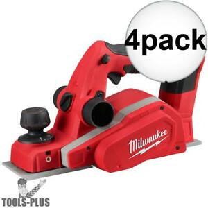 Milwaukee 2623 20 M18 3 1 4 Planer tool Only 4x New