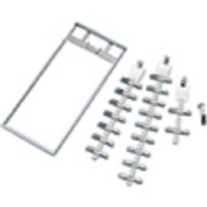 Dentsply X ray Film Processing Stainless Steel Hanger With 18 Clips brand New