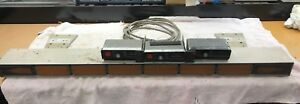 Vintage Whelen 52 Series Amber Traffic Adviser Lightbar Arrowstick W 3 Controls