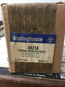 Westinghouse Thermal Overload Relay