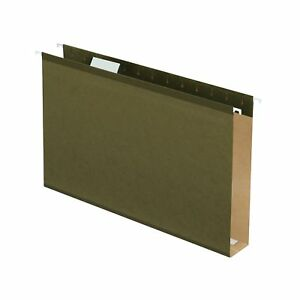 Hanging File Folders 2 Extra Capacity Reinforced Legal Size 1 5 Cut 25 bx