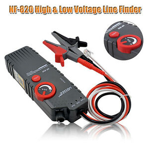 Nf 820 Tester High low Voltage Cable Tester Underground Cable Finder Test Tools