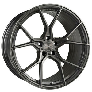 20 Stance Sf07 Forged 20x10 5 Gunmetal Concave Wheels Rims Fits Audi B8 A5 S5