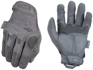 Mechanix Wear M pact Wolf Grey Tactical Gloves medium Grey