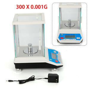 Lab Analytical Balance 1mg 200x0 001 G Digital Precision Scale Solid Weighing
