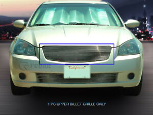 Polishd Billet Grille Front Grill Insert For Nissan Altima 2005 2006