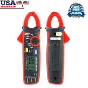 Uni t Ut210e True Rms Ac dc Current Lcd Diaplay Digital Clamp Meter Tester Us