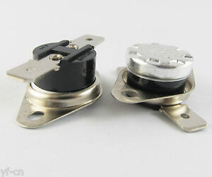 100x Ksd301 Normal Close N c 10a 250v Thermostat Bimetal Disc Temperature Switch