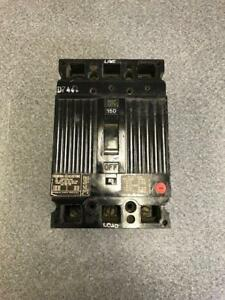 General Electric Circuit Breaker Ted136150 150a 3 Pole 600 Vac