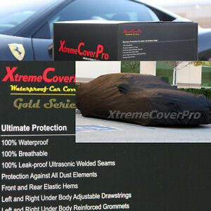 Waterproof Car Cover Black For 1999 2000 2001 2002 2003 Mazda Protege