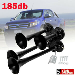185db 4 Trumpet Train Air Horn Kit Loud Truck Pickup For Ford Ch
