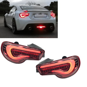 Gt 86 Frs Brz Zn6 Led Tail Light Valenti Sequential Clear Red Usdm 13 19