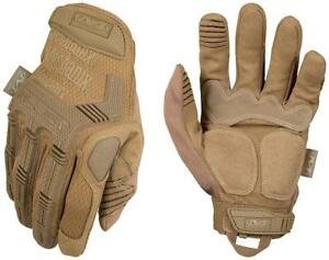Mechanix Wear M pact Coyote Tactical Gloves large Brown