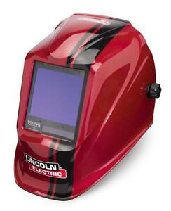 Lincoln Electric Viking 3350 Code Red Welding Helmet With 4c Lens Technology