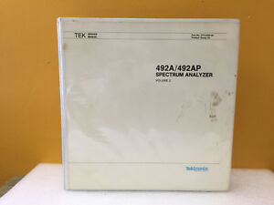 Tektronix 070 5566 00 492a 492ap Spectrum Analyzer Service Manual Volume 2