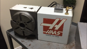 Haas Hrt 210 Sigma 1 4th Axis Rotary Table Indexer see Video