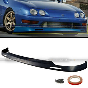 Fit 98 01 Integra Dc2 Bys Style Front Bumper Lower Lip Spoiler Jdm Polyurethane