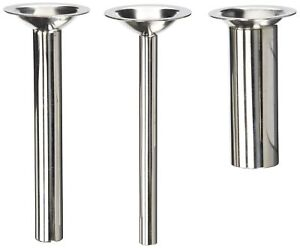 Three Pack 6 Long Sausage Stuffing Stuffer Tubes For Kitchenaid Mixer Meat G