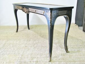 Vintage Drexel Et Cetera Line Asian Inspired Console Sofa Table Chinoiserie