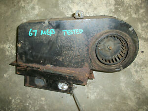 Mgb Heater Box Smiths Heater Motor Tested From A 1967 Mgb