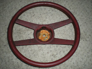 Red 4 Spoke Camaro Steering Wheel Model 9752585 4 Asis