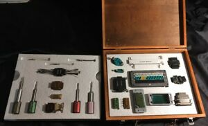 Vintage Burndy Test Kit W Extraction Tools Rx20 18 Rx20 28 Rx20 25v2