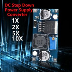 Lot Lm2596_adjustable Dc dc Converter Buck Step Down Powersupply Module 1 3v 35v